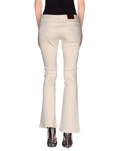 Фото 2 - Джинсовые брюки от ATELIER FIXDESIGN цвет слоновая кость