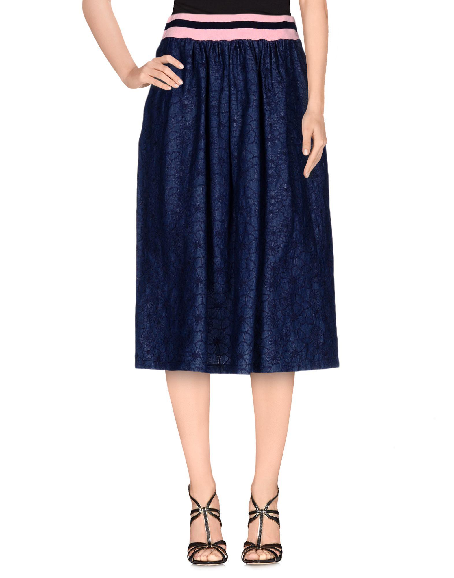 купить MAISON COLETTE Джинсовая юбка дешево