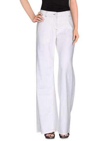 Фото - Джинсовые брюки от MALÌPARMI белого цвета