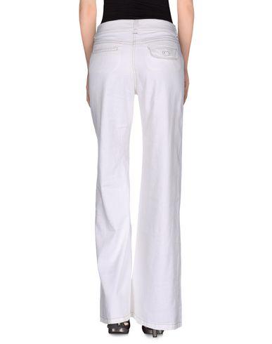Фото 2 - Джинсовые брюки от MALÌPARMI белого цвета