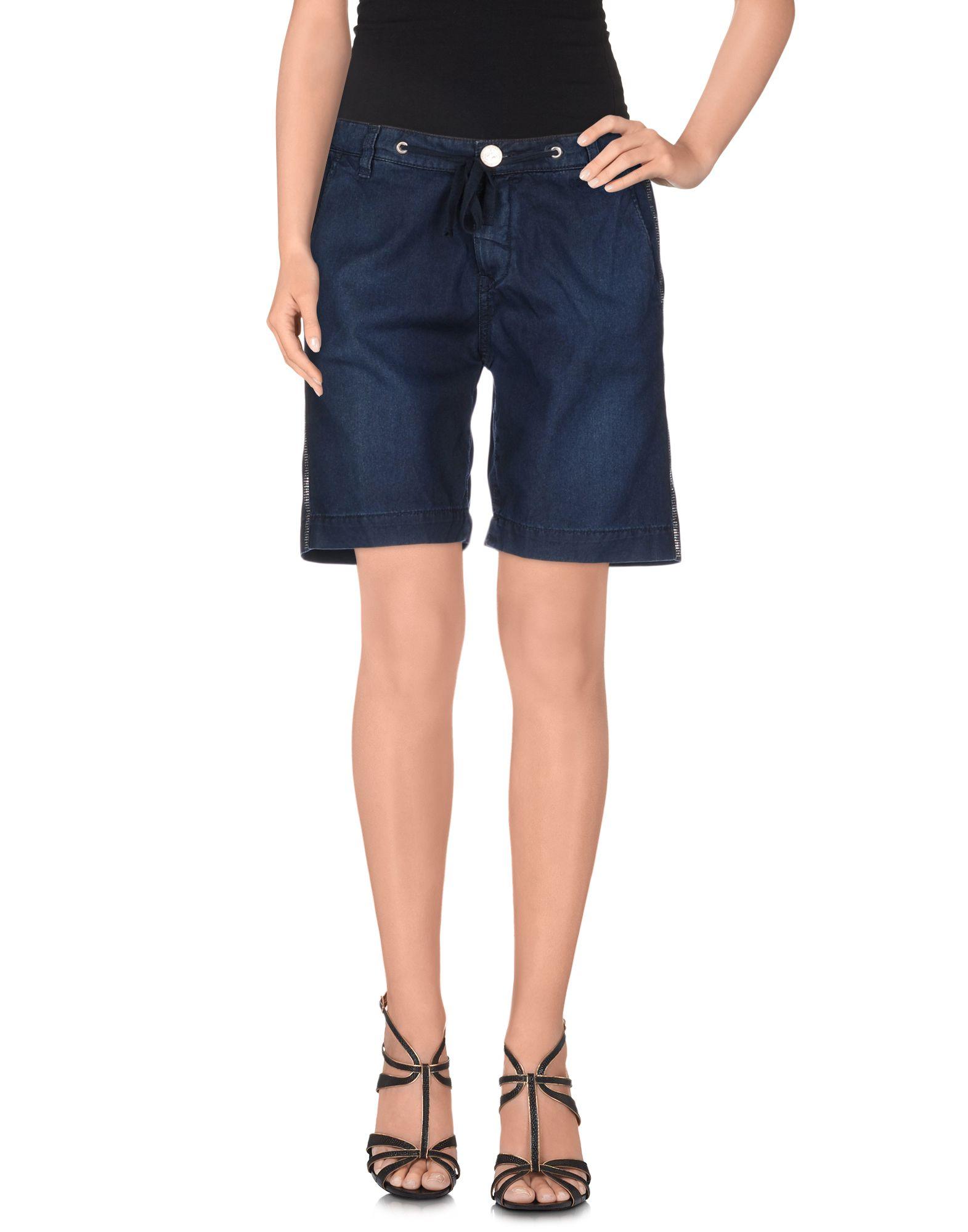 TWIN-SET JEANS Джинсовые бермуды masons jeans джинсовые бермуды
