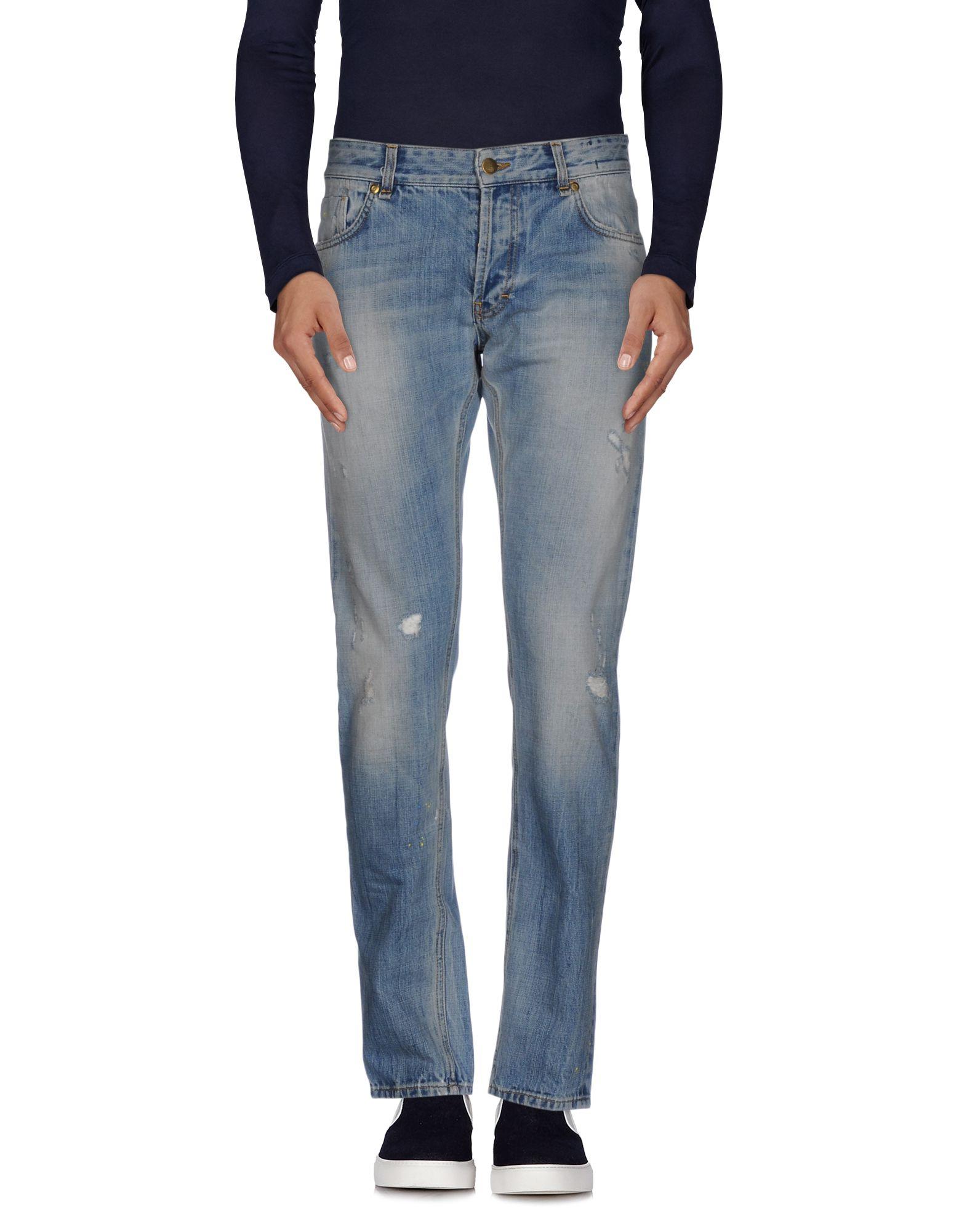 N° 4 FOUR Джинсовые брюки n° 4 four джинсовые бермуды