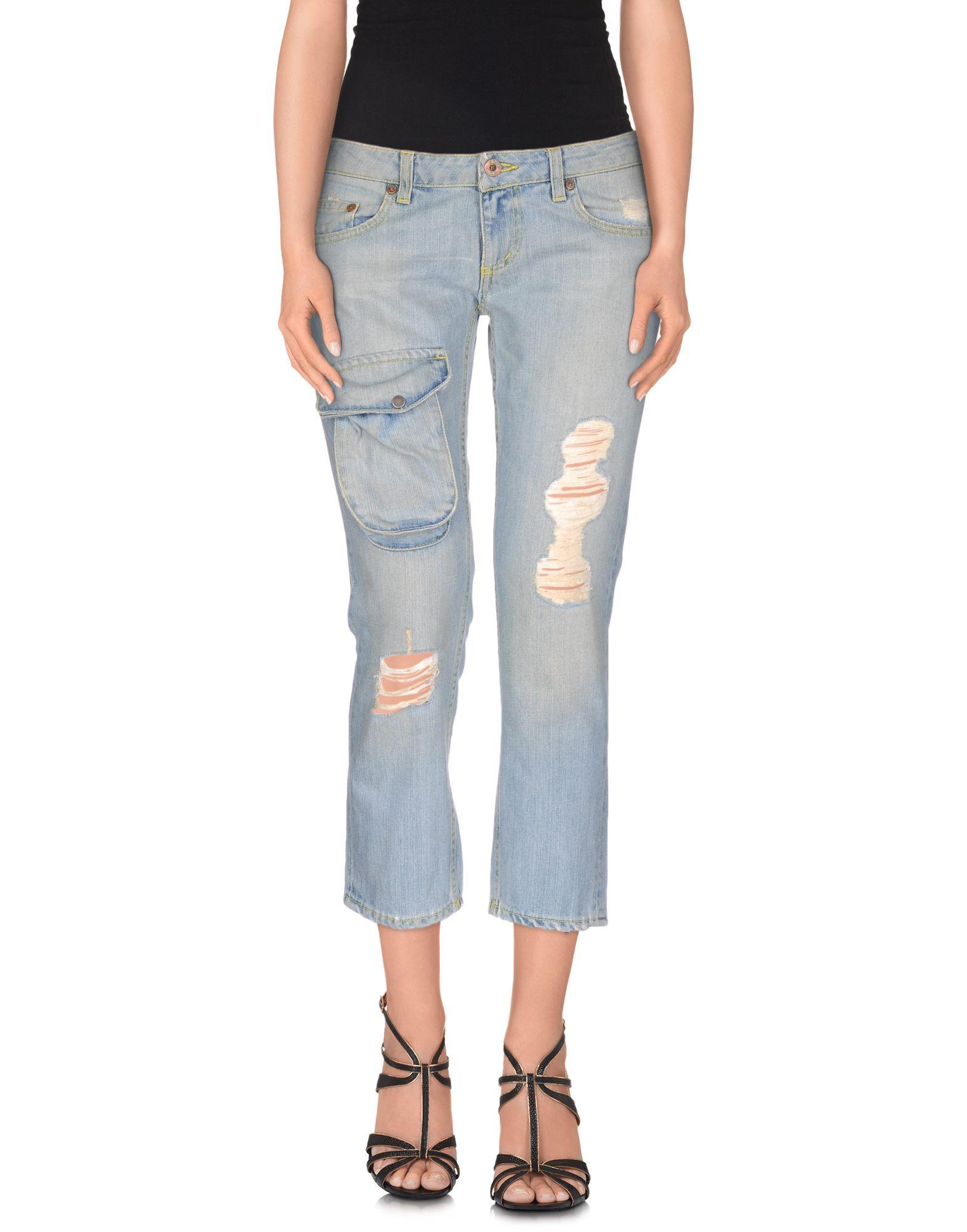 DONDUP Джинсовые брюки-капри