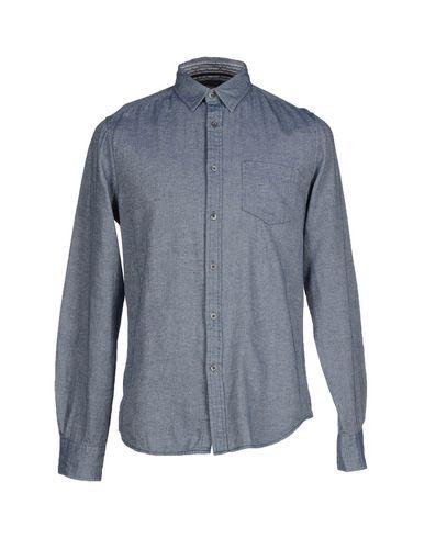 Foto GILDED AGE Camicia jeans uomo Camicie jeans