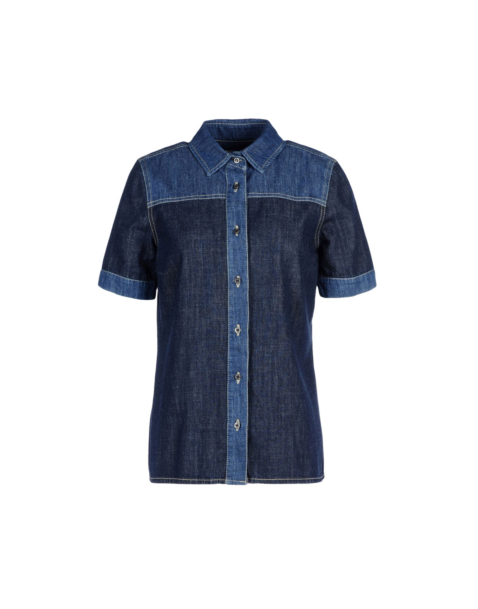 цена 8 Джинсовая рубашка онлайн в 2017 году