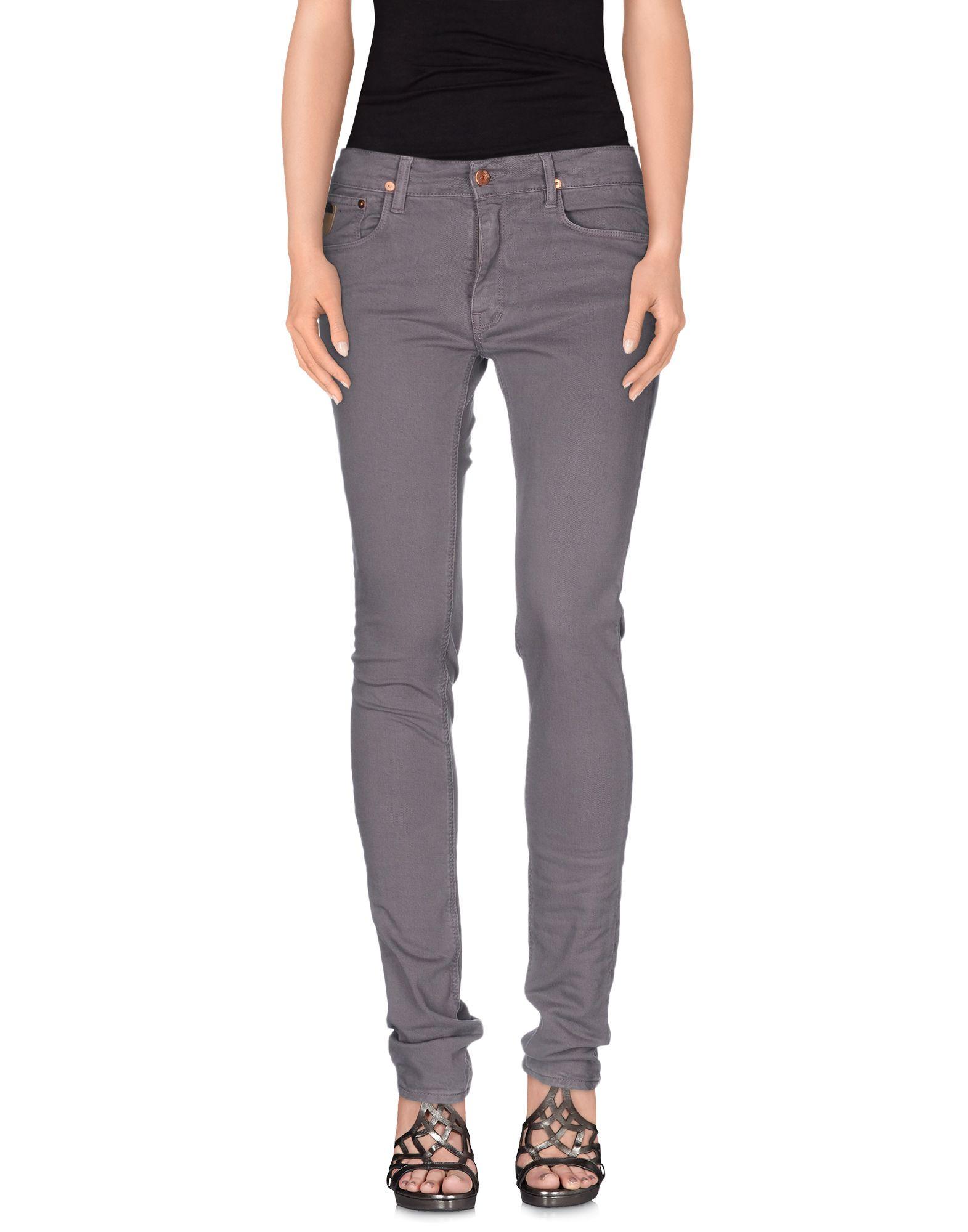 APRIL 77 Джинсовые брюки broken april