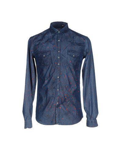 Foto COSTUMEIN Camicia jeans uomo Camicie jeans