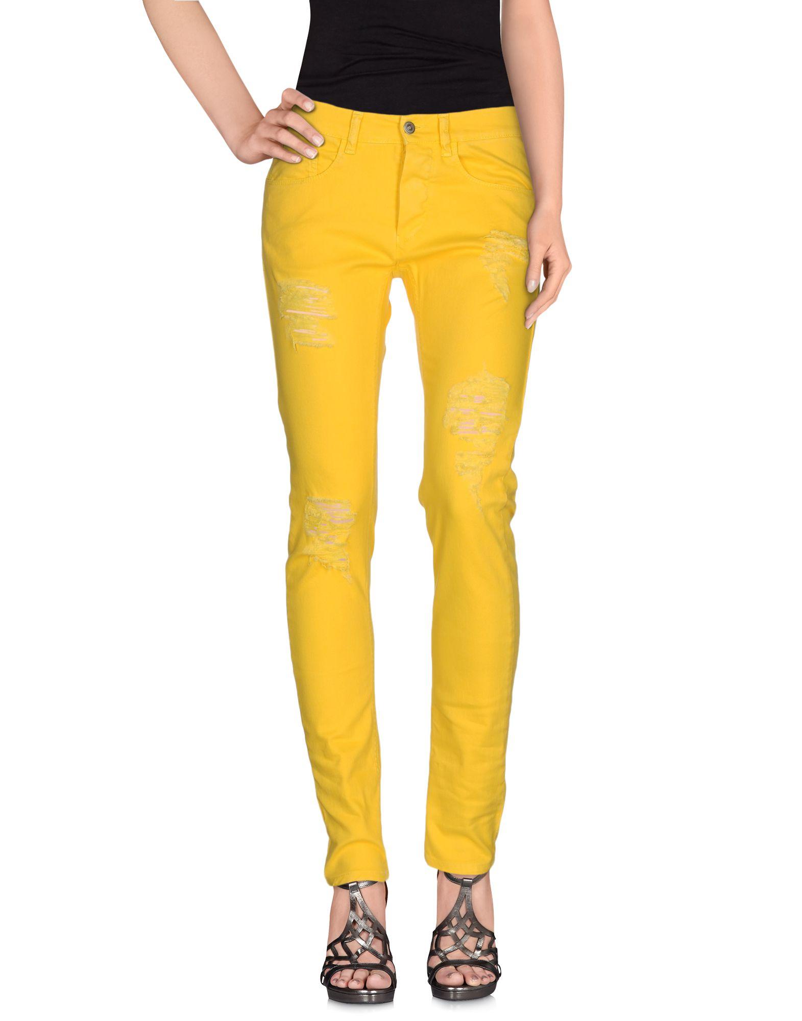MINIMARKET Denim Pants in Yellow