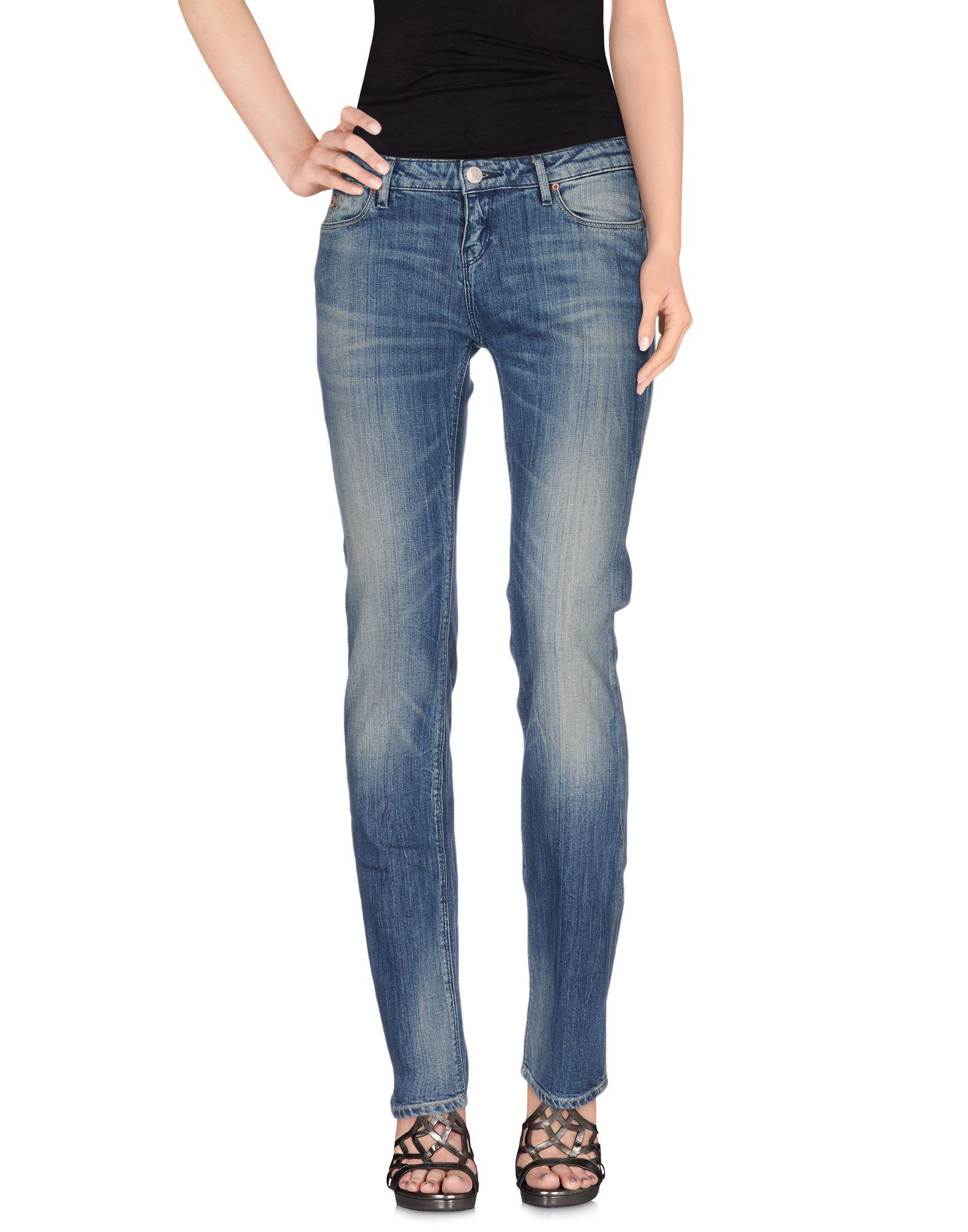 MAISON SCOTCH Джинсовые брюки цена и фото