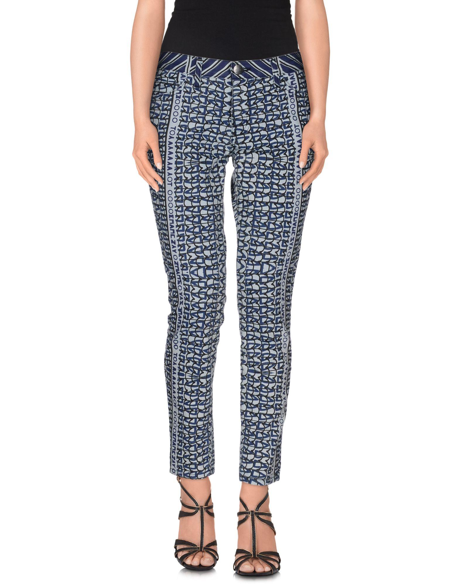 CURRENT/ELLIOTT + MARY KATRANTZOU Джинсовые брюки