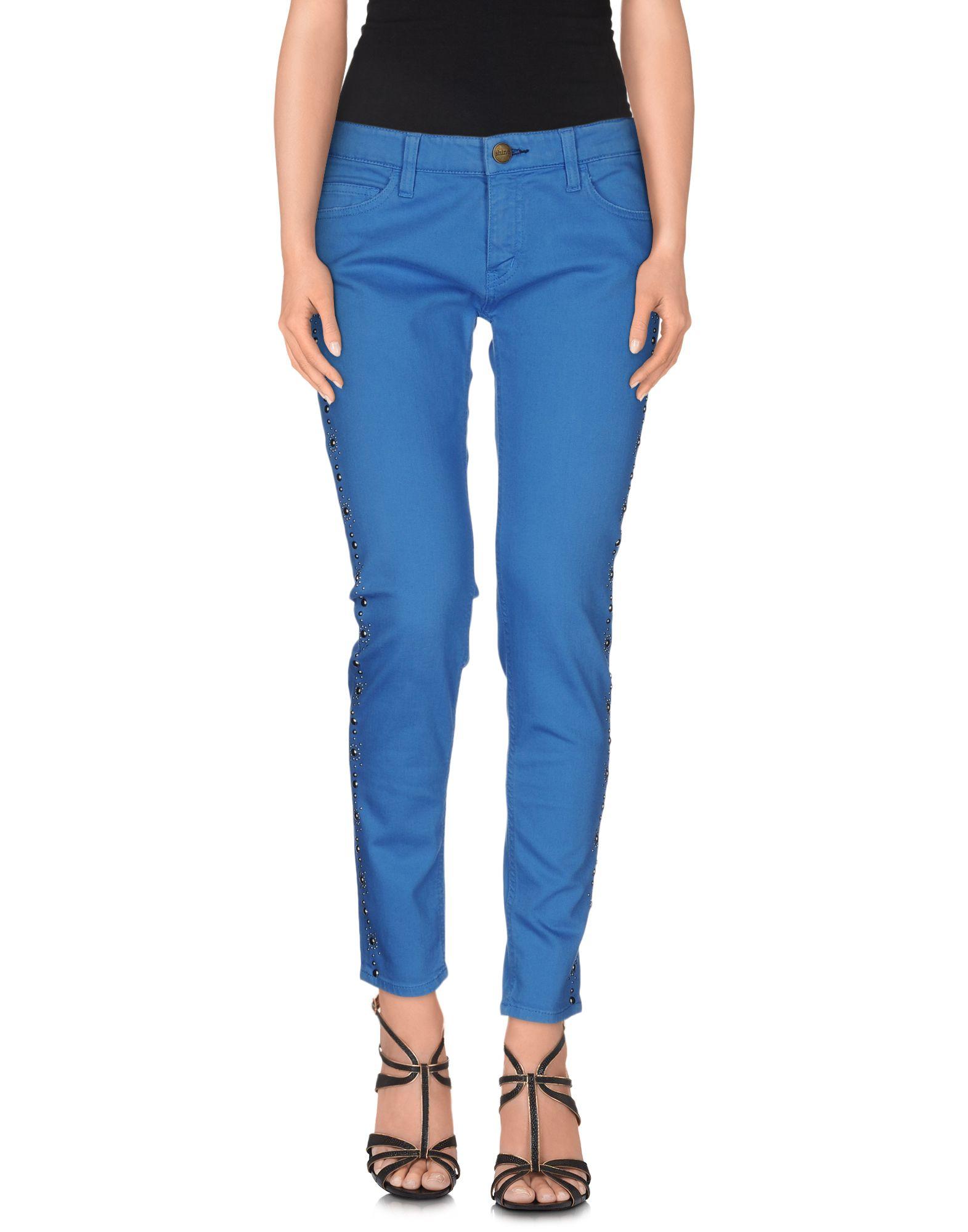 SHINE Джинсовые брюки цена 2017
