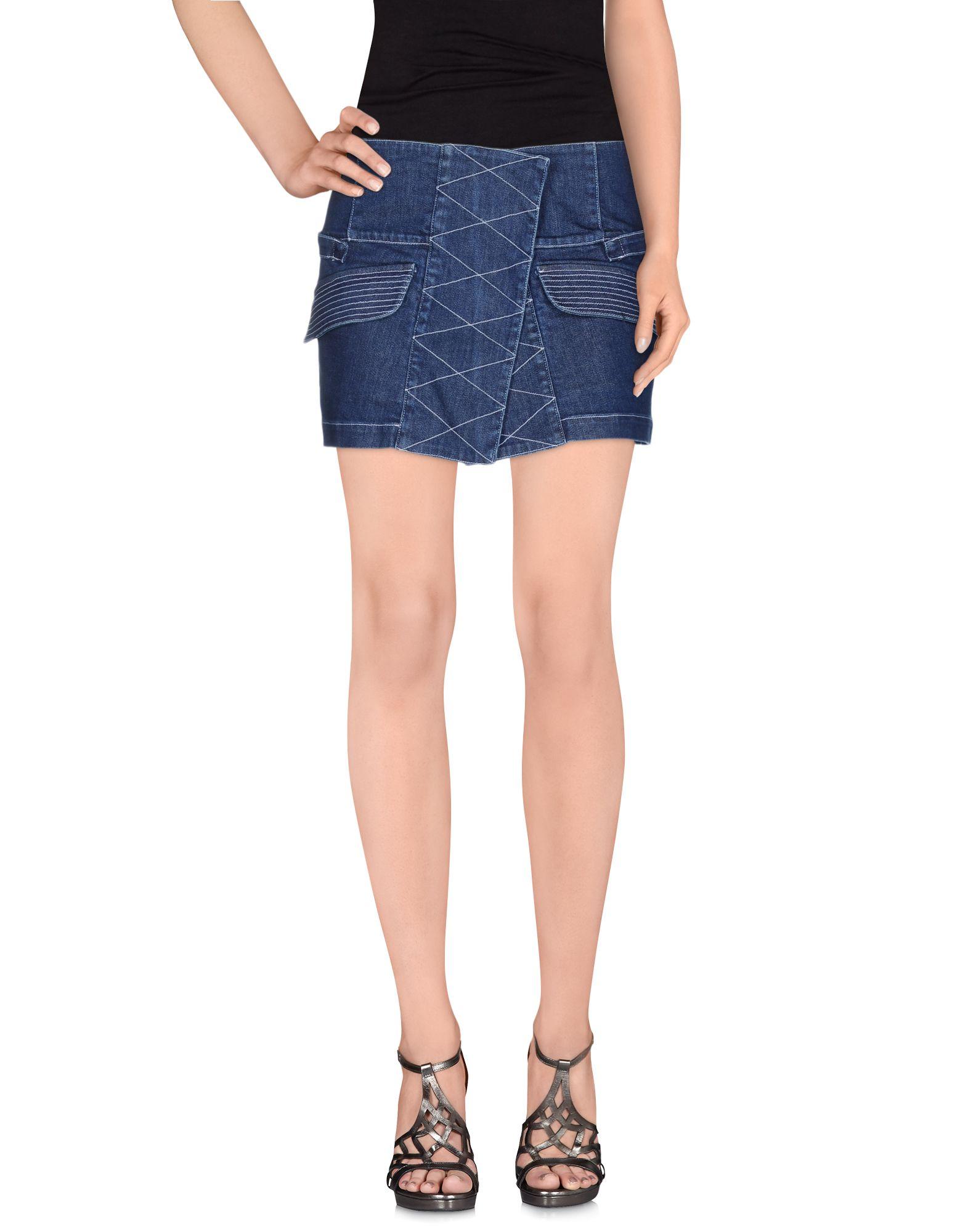 где купить  OPENING CEREMONY Джинсовая юбка  по лучшей цене