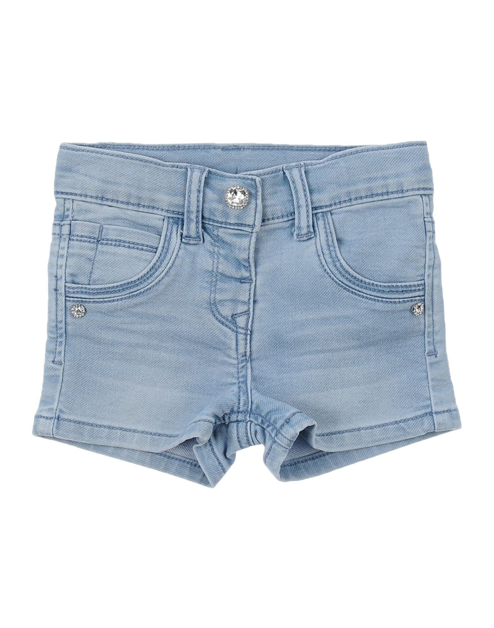 MONNALISA BEBE Denim shorts
