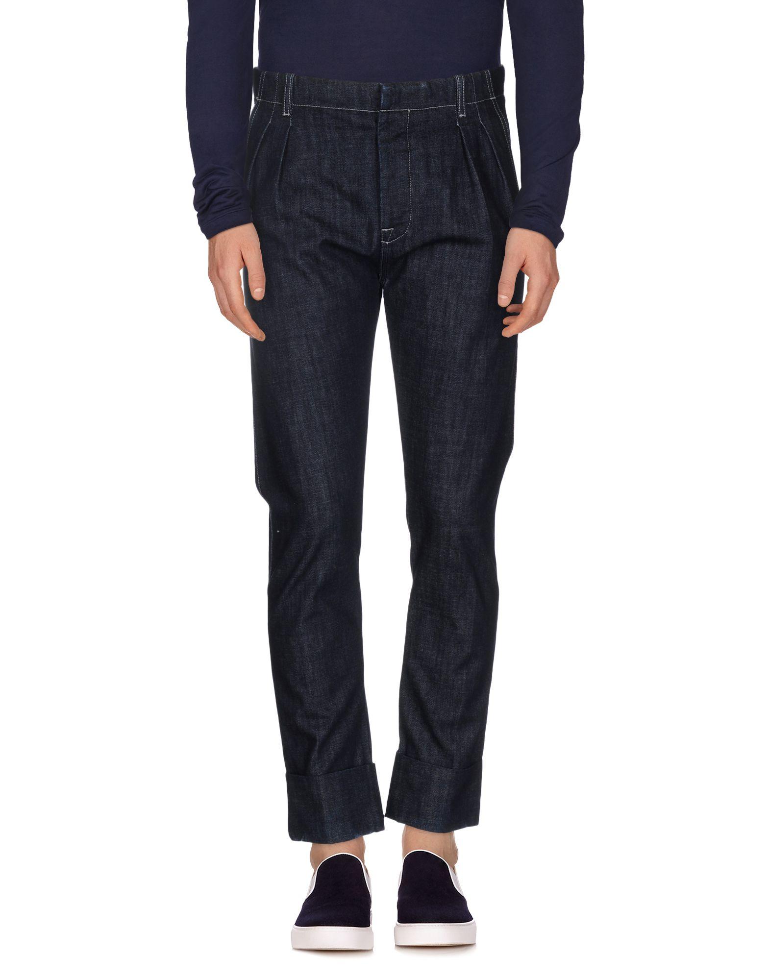 цена ANDREA POMPILIO Джинсовые брюки онлайн в 2017 году