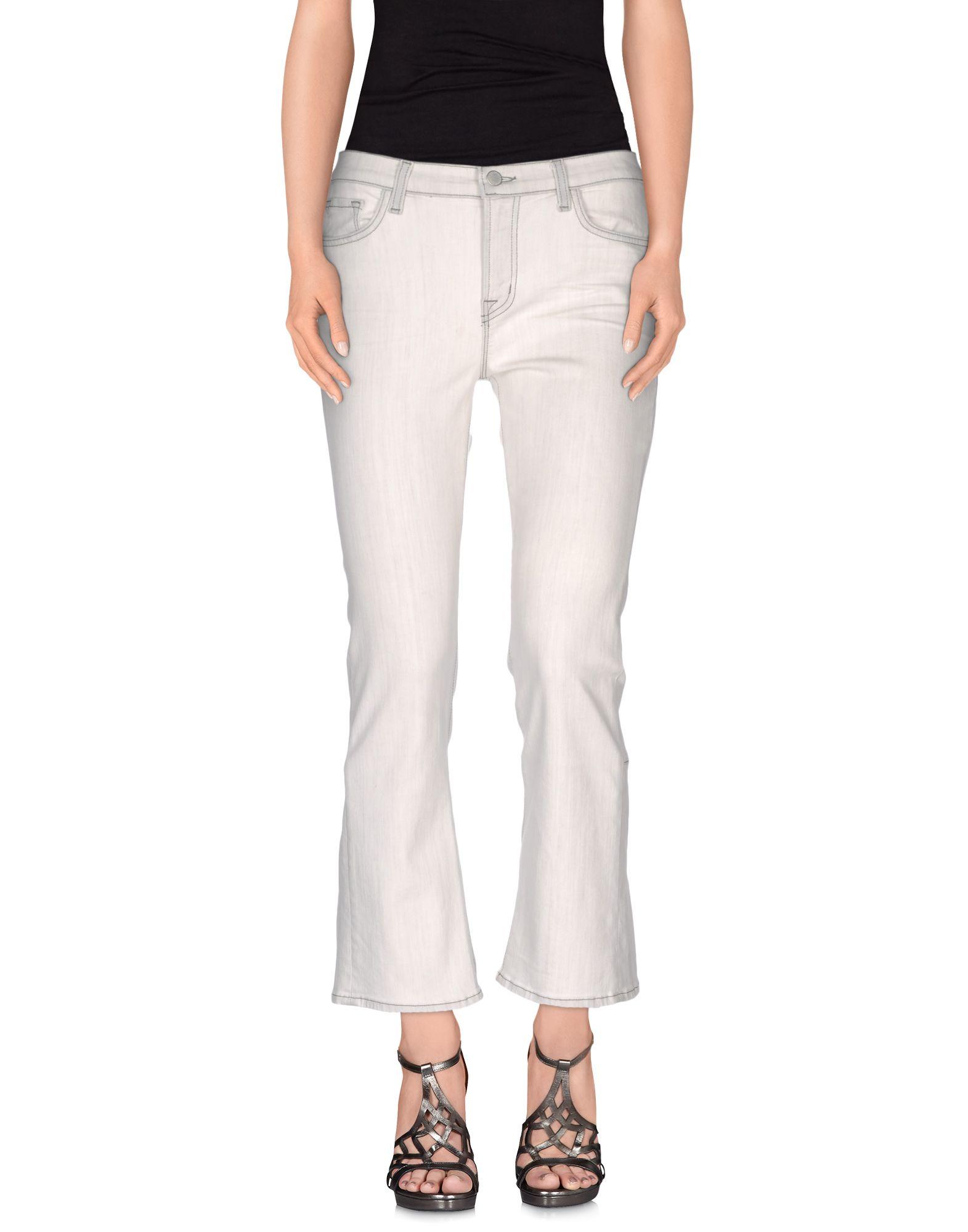 цена CHRISTOPHER KANE x J BRAND Джинсовые брюки онлайн в 2017 году