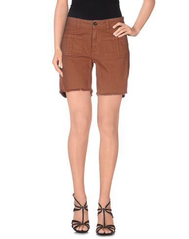 Фото - Джинсовые брюки от SWILDENS коричневого цвета