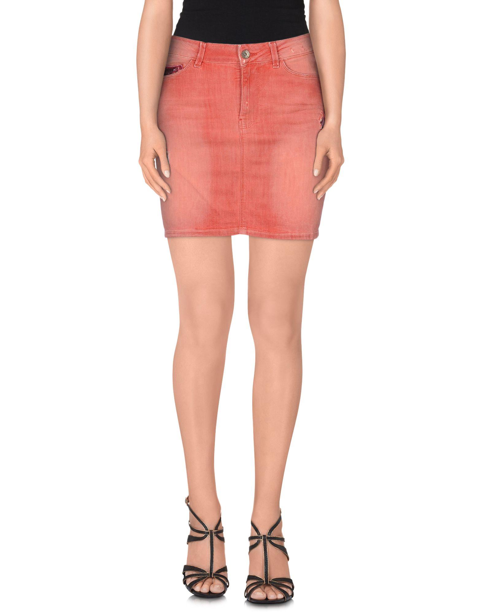 GUESS Джинсовая юбка vinemo vorneoco корейская версия высокой талии слот пакет юбка джинсовая юбка юбка юбка r1540 серый xl