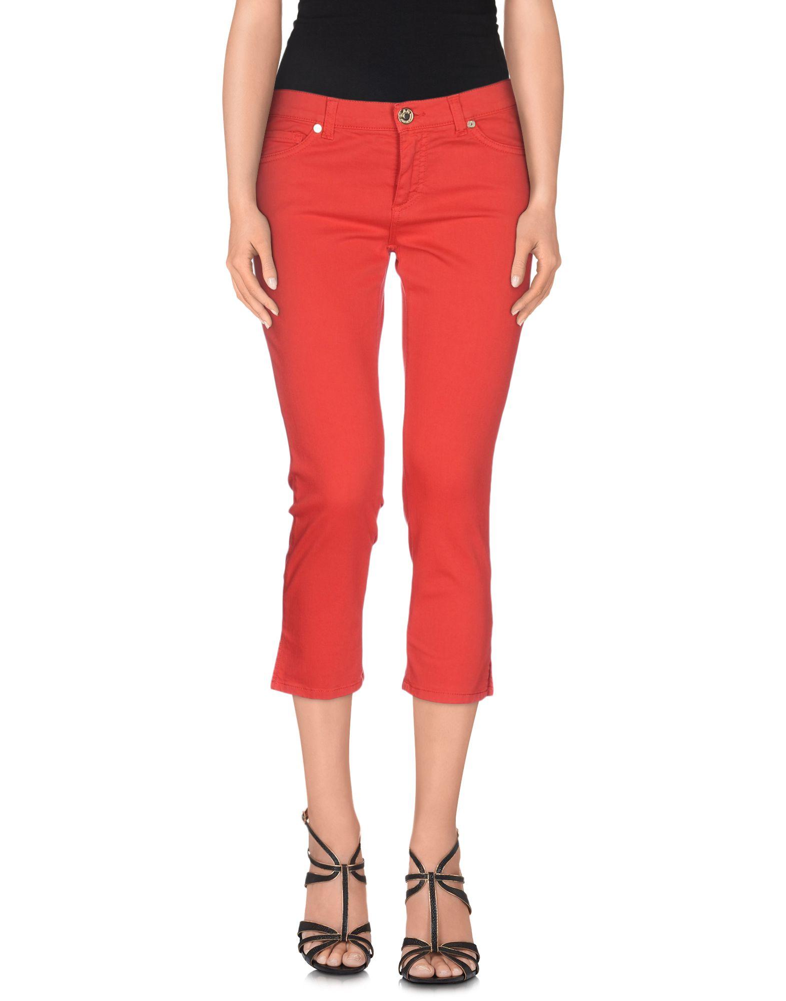 GLAM CRISTINAEFFE Джинсовые брюки-капри недорго, оригинальная цена