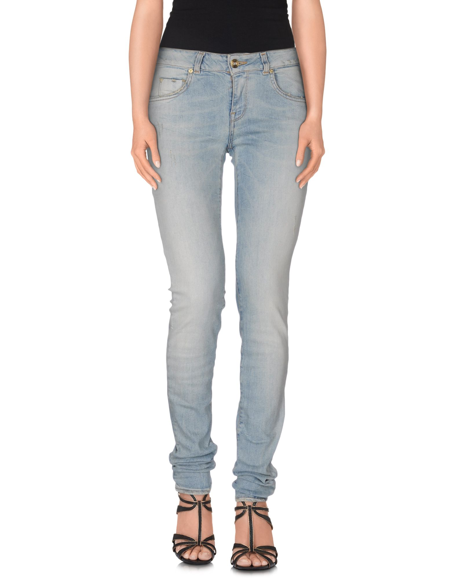SUPERTRASH Джинсовые брюки supertrash сандалии