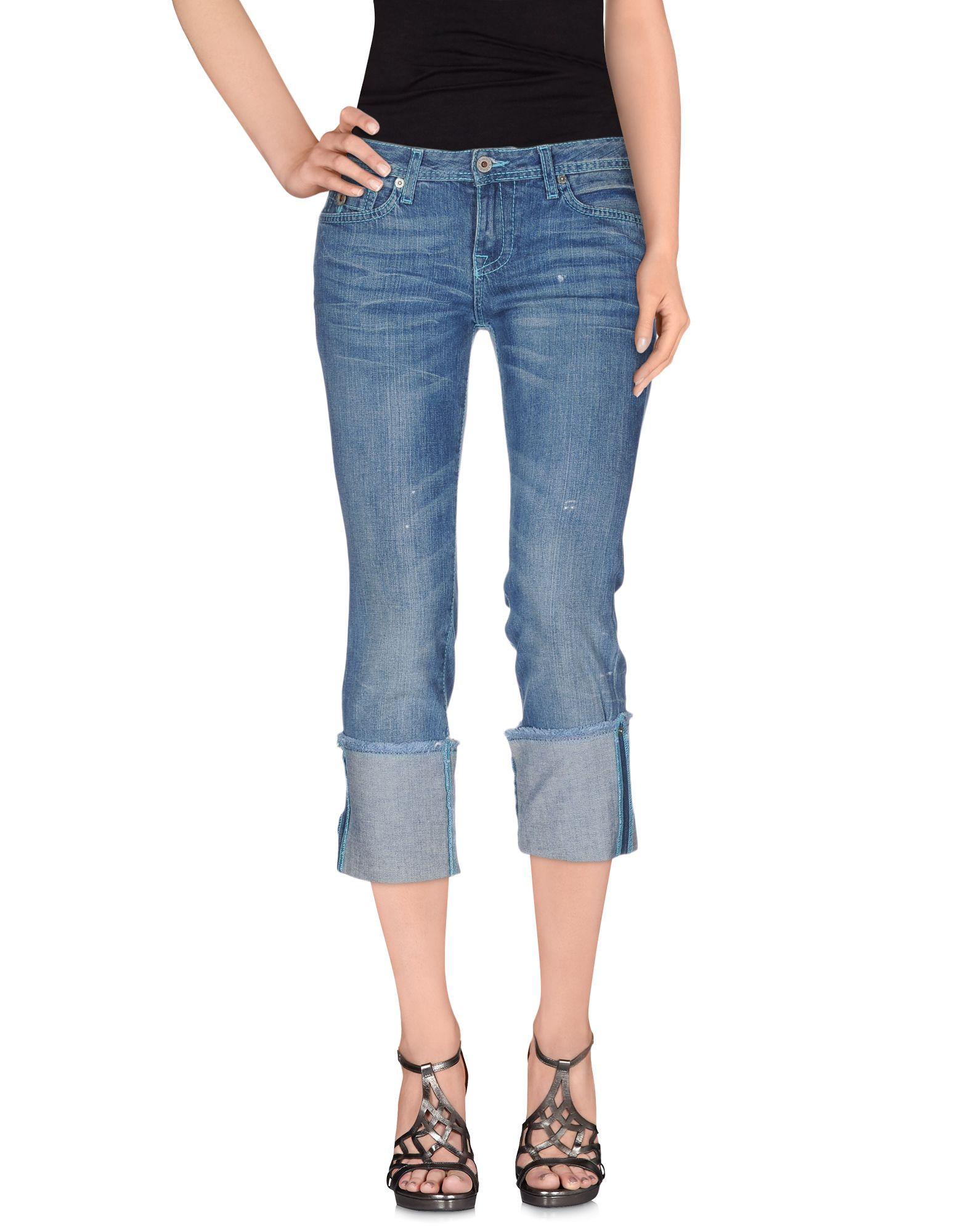 POLO JEANS COMPANY Джинсовые брюки-капри polo jeans company сумка на руку