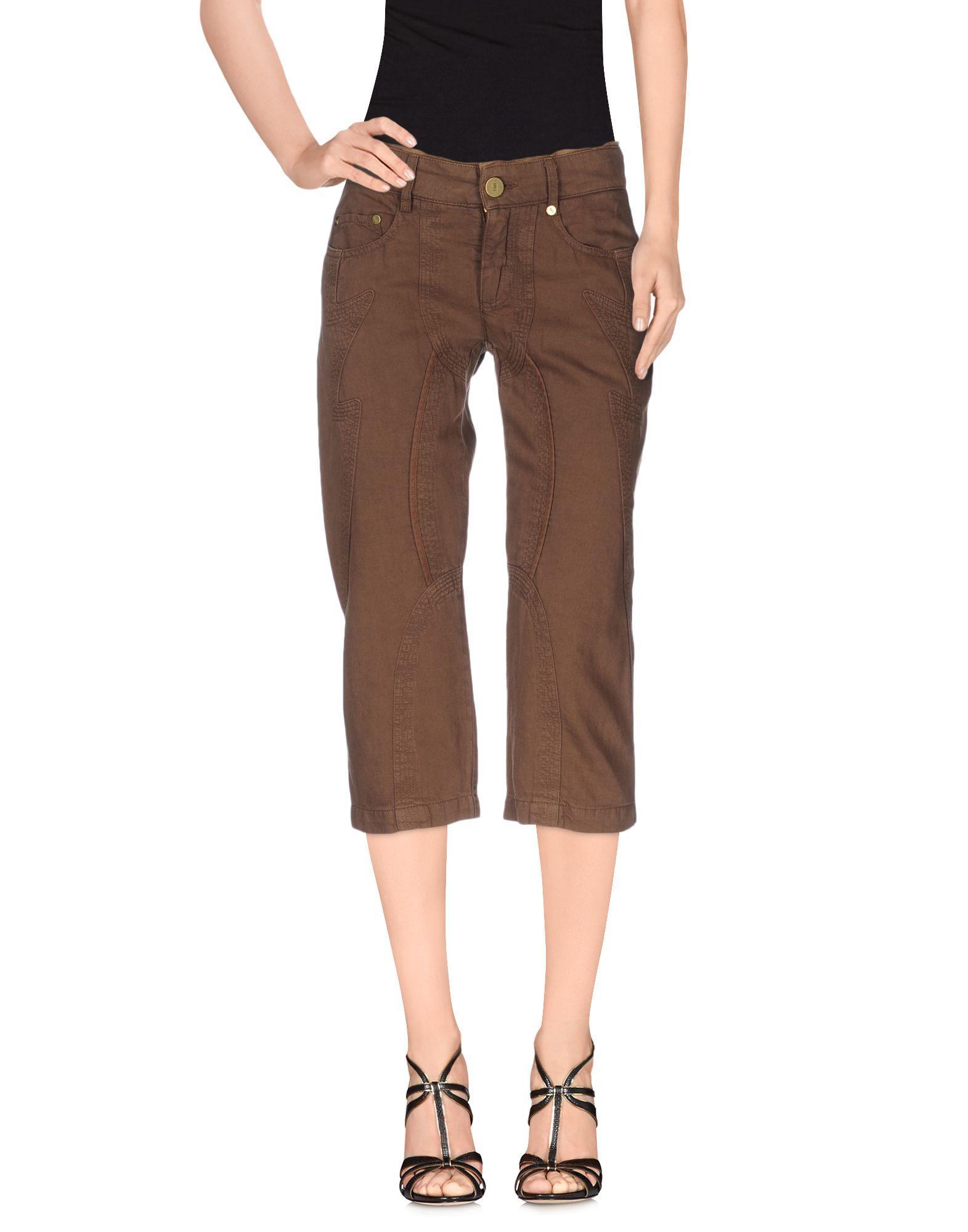 где купить TRUST TOILETTE Джинсовые брюки-капри по лучшей цене
