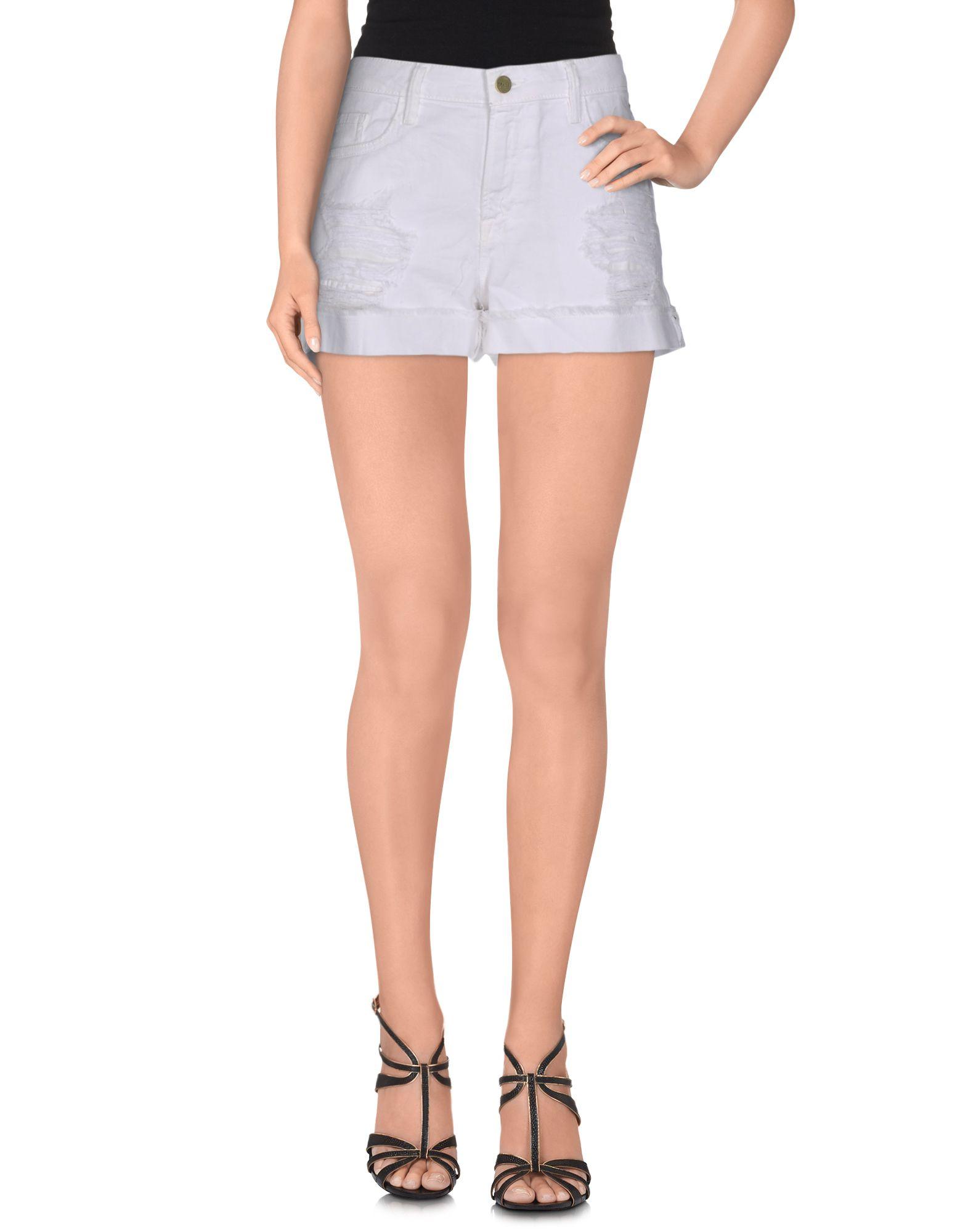 FRAME Джинсовые шорты superfine джинсовые шорты