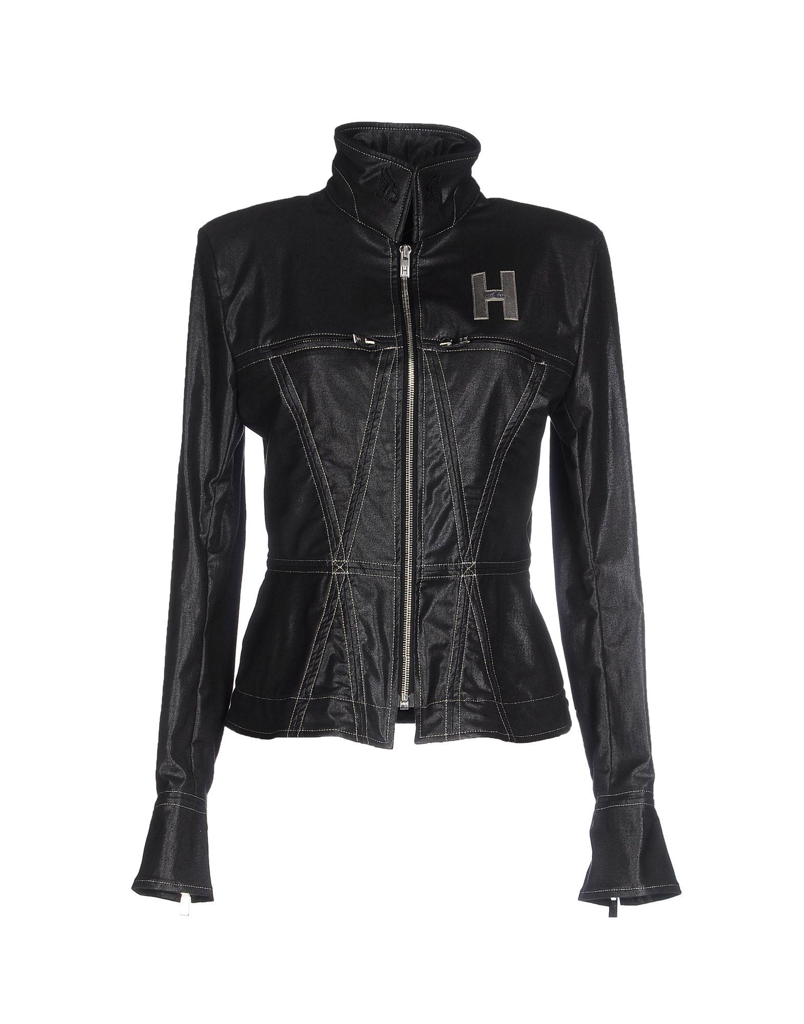 HOGAN by KARL LAGERFELD Джинсовая верхняя одежда цены онлайн