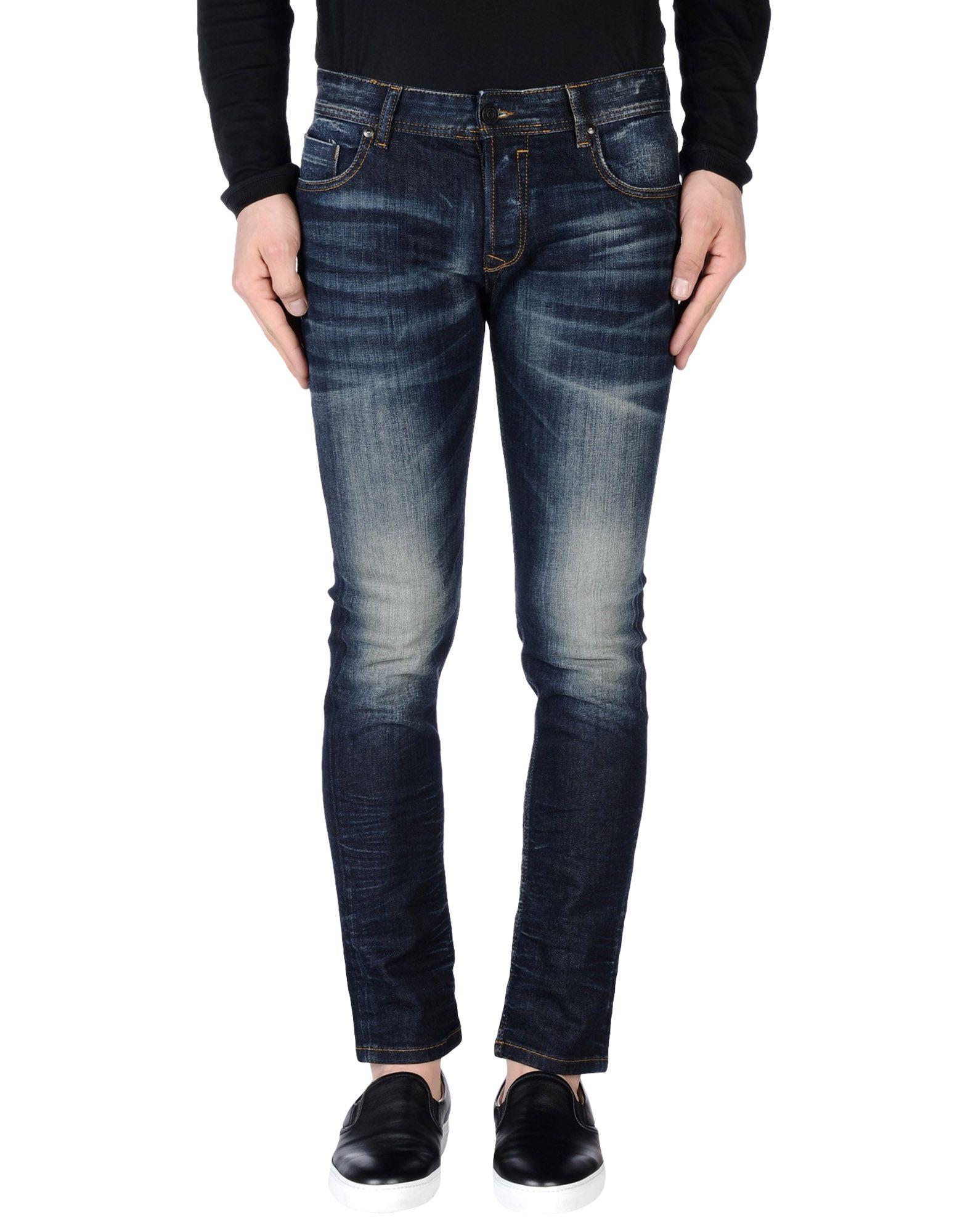 цена DAVID NAMAN Джинсовые брюки онлайн в 2017 году