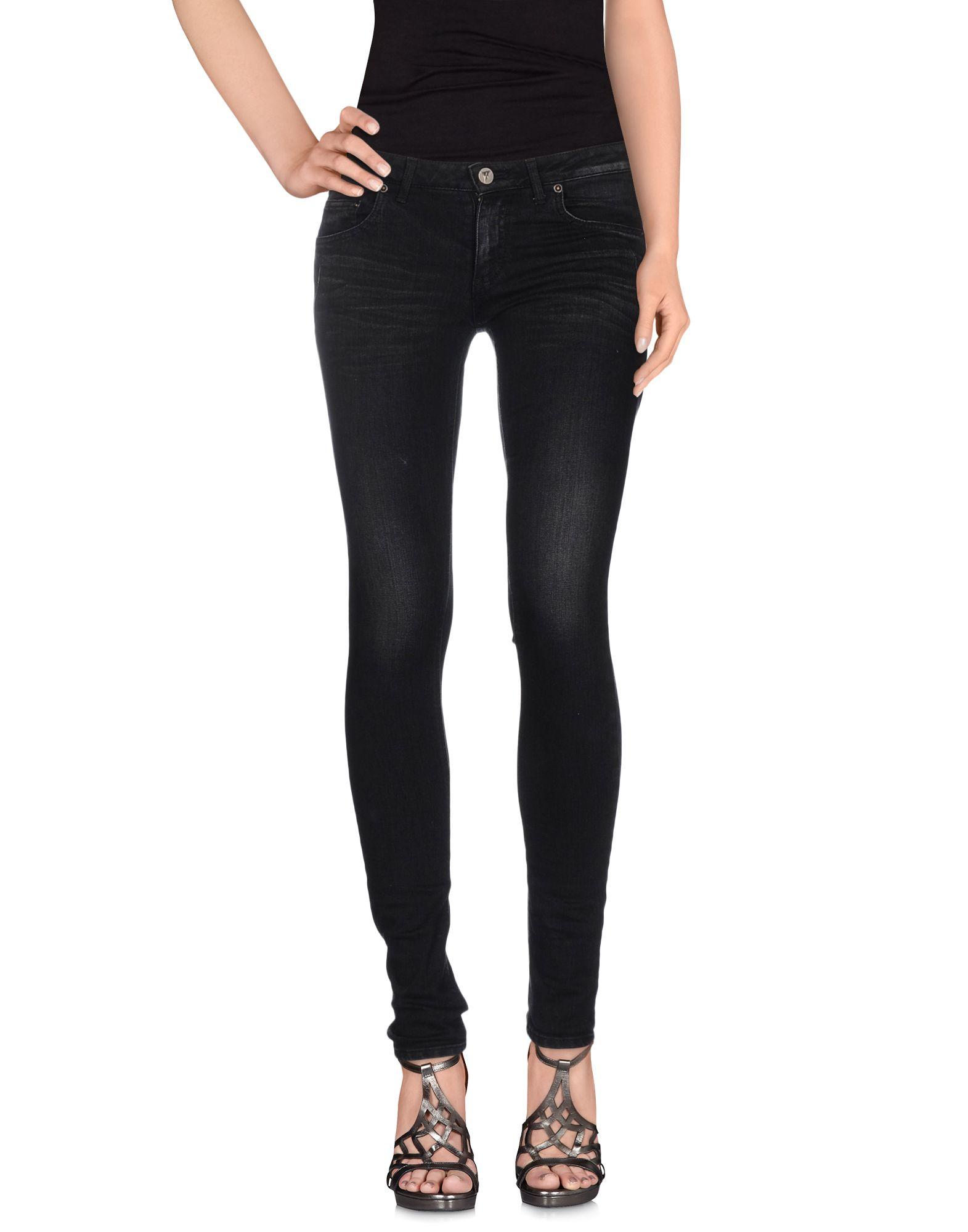 FAGASSENT Denim Pants in Black
