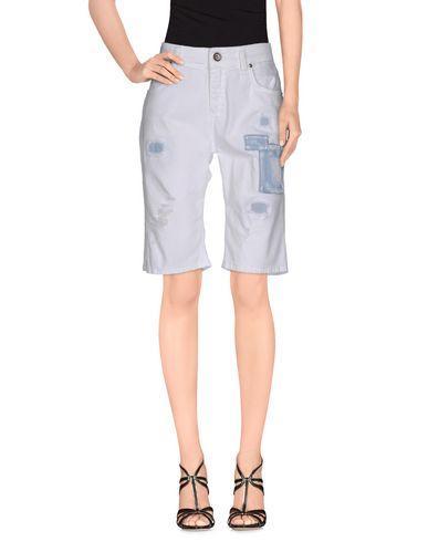 Pantaloni bermuda Bianco donna MISS MISS by VALENTINA Bermuda jeans donna
