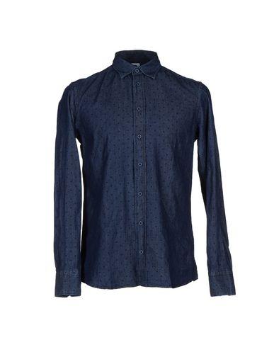 Фото - Джинсовая рубашка от DE LAMP синего цвета