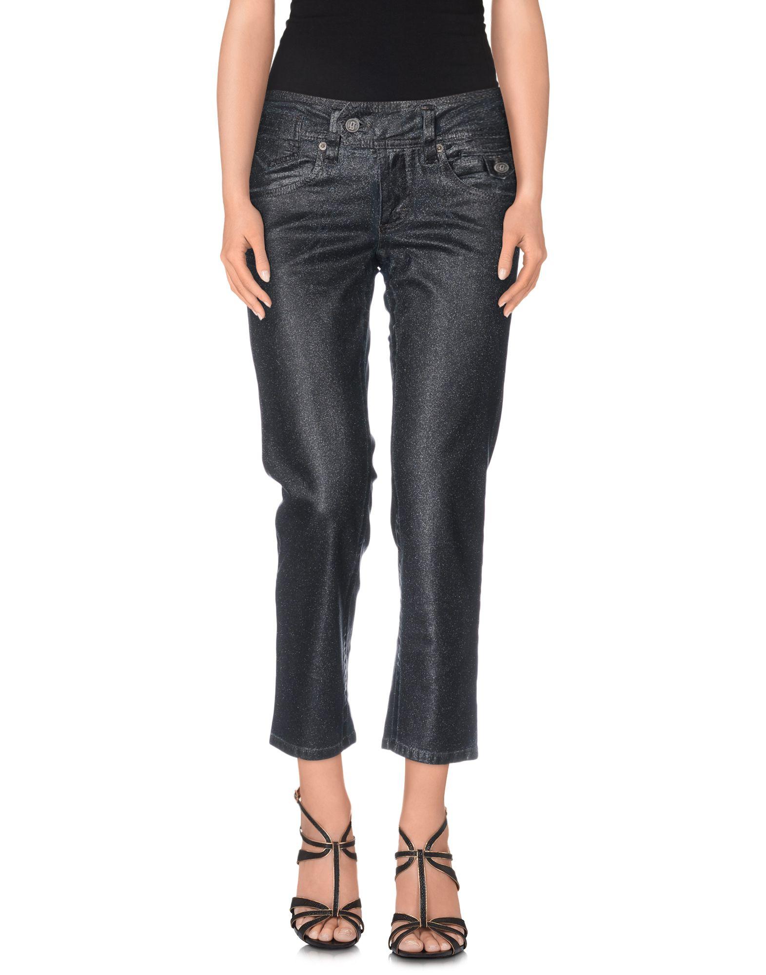 все цены на GALLIANO Джинсовые брюки-капри в интернете