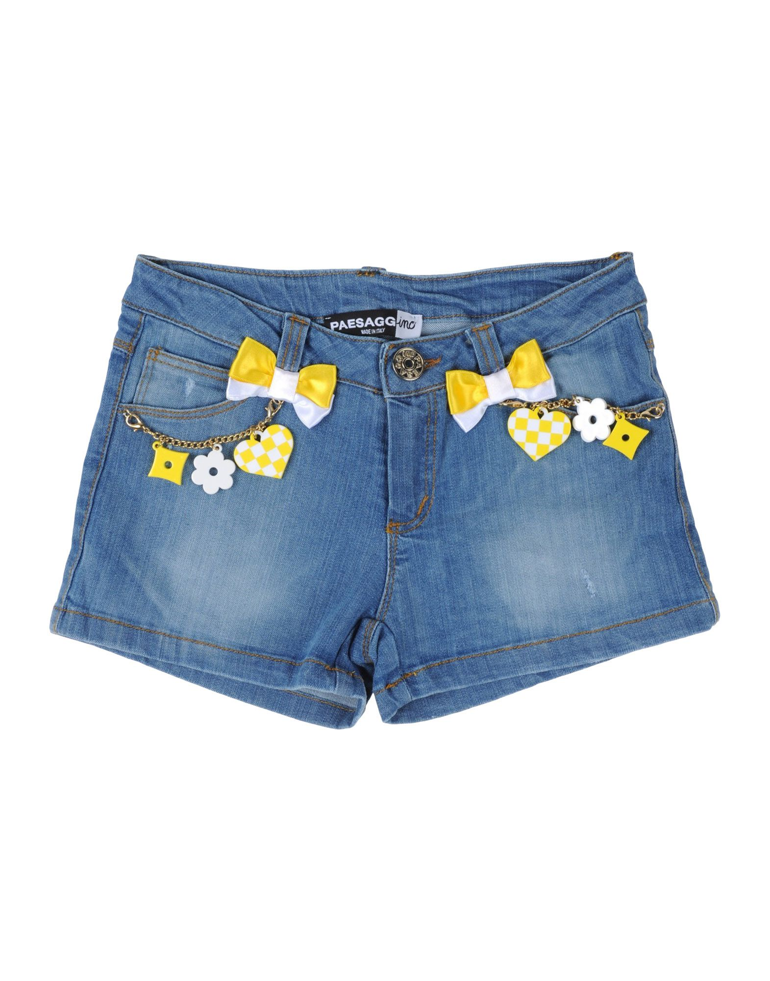 PAESAGGino Denim shorts