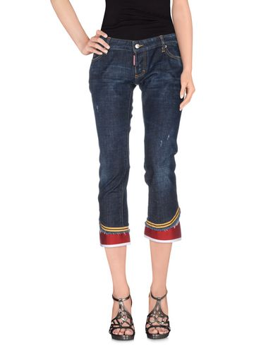 Джинсовые брюки-капри DSQUARED2 42501674CQ