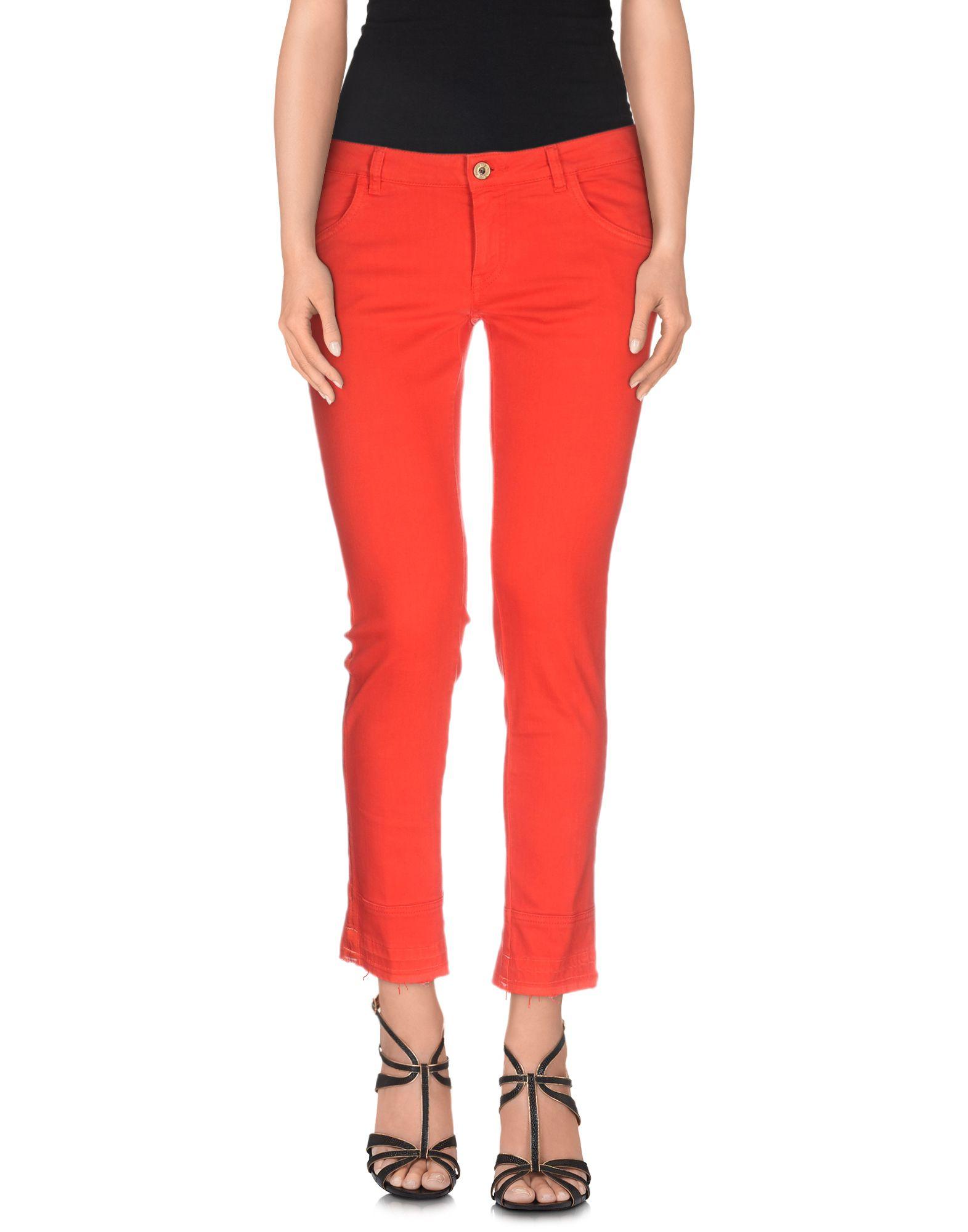PENCE Джинсовые брюки-капри start up джинсовые брюки капри