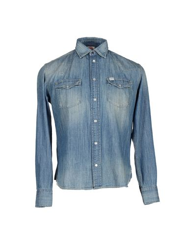 Foto FRANKLIN & MARSHALL Camicia jeans uomo Camicie jeans