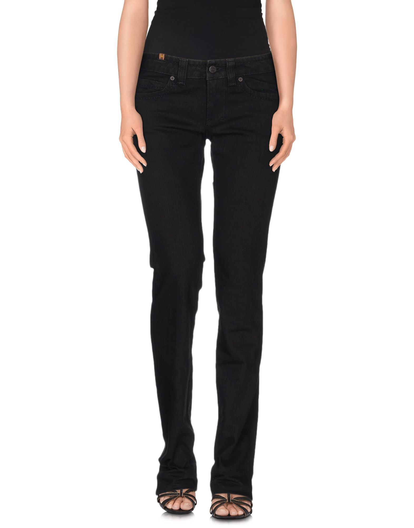 NOTIFY Dahlia High-Rise Flared Jeans in Black