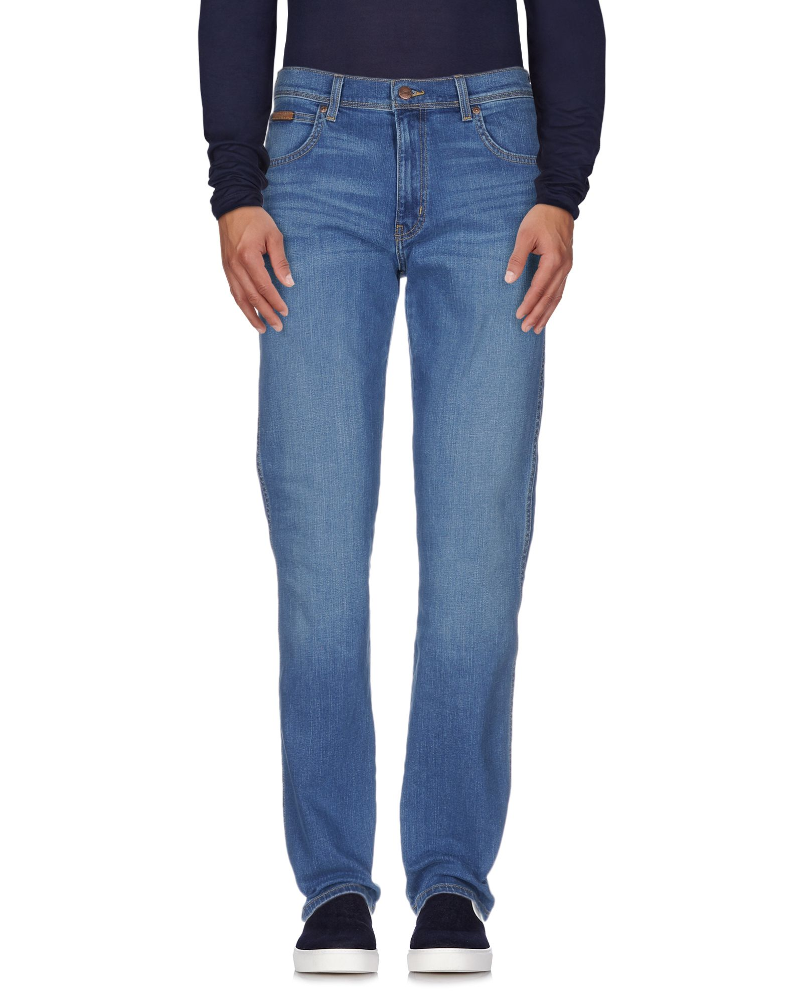 WRANGLER Джинсовые брюки цена 2017