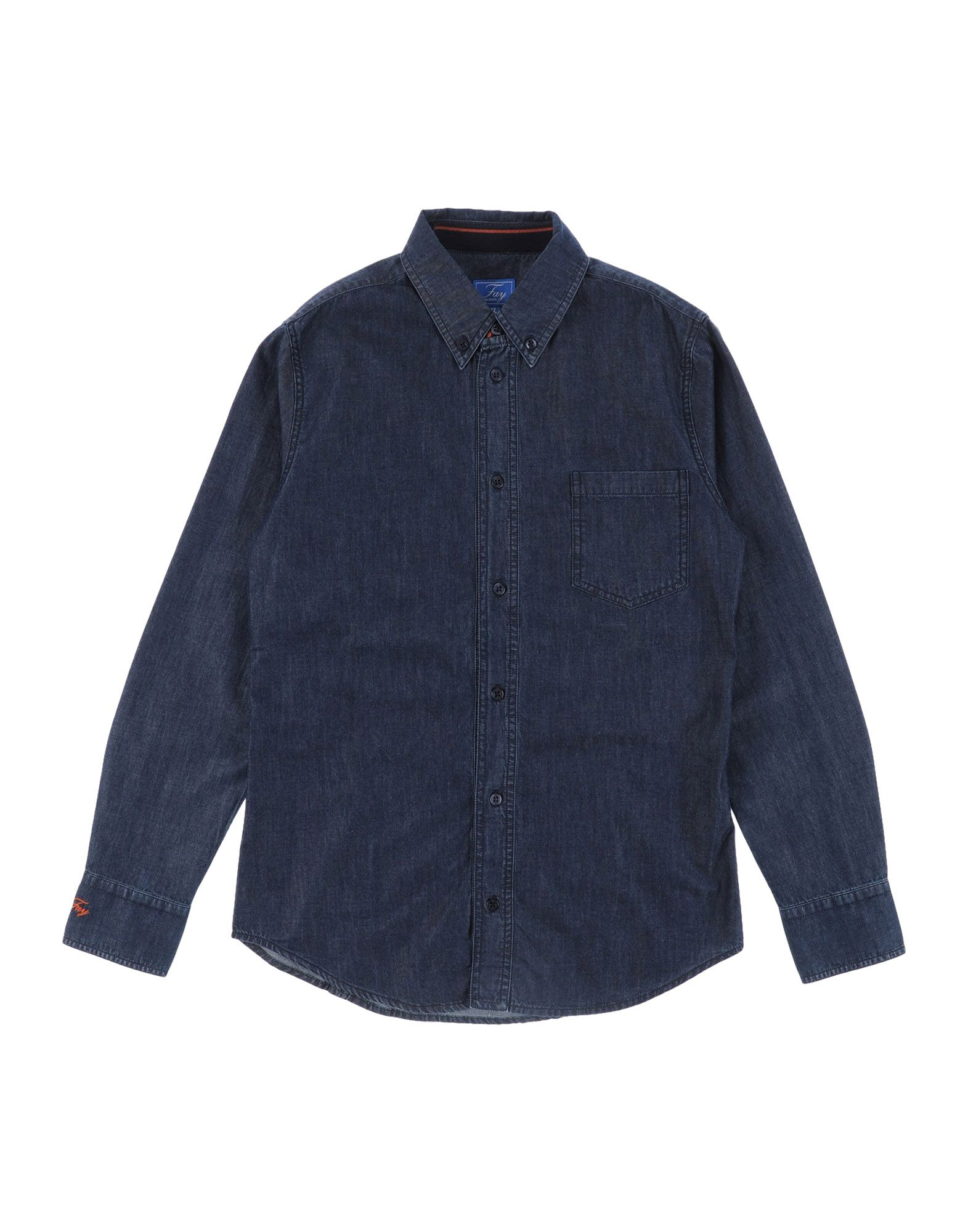 FAY | FAY Denim shirts | Goxip