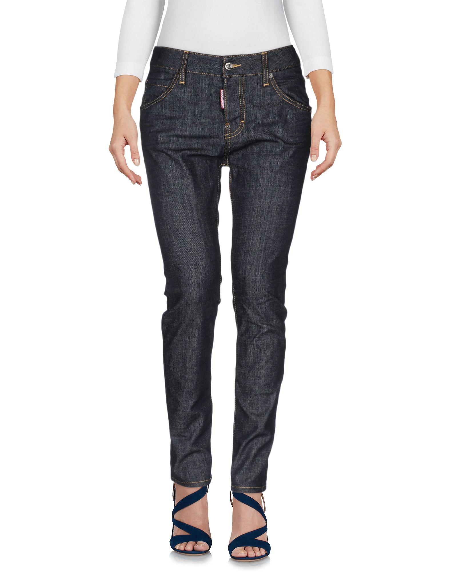 Фото DSQUARED2 Джинсовые брюки. Купить с доставкой