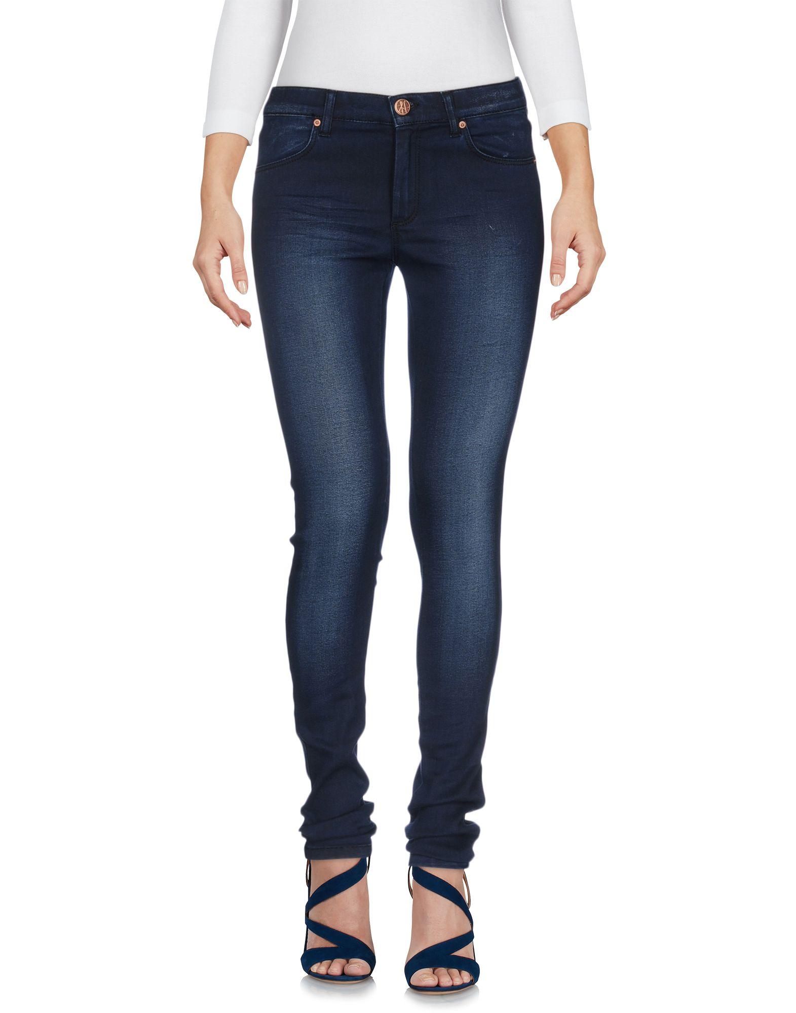 2ND ONE Damen Jeanshose Farbe Blau Größe 3