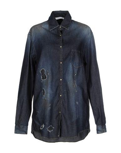 Foto AGLINI Camicia jeans donna Camicie jeans