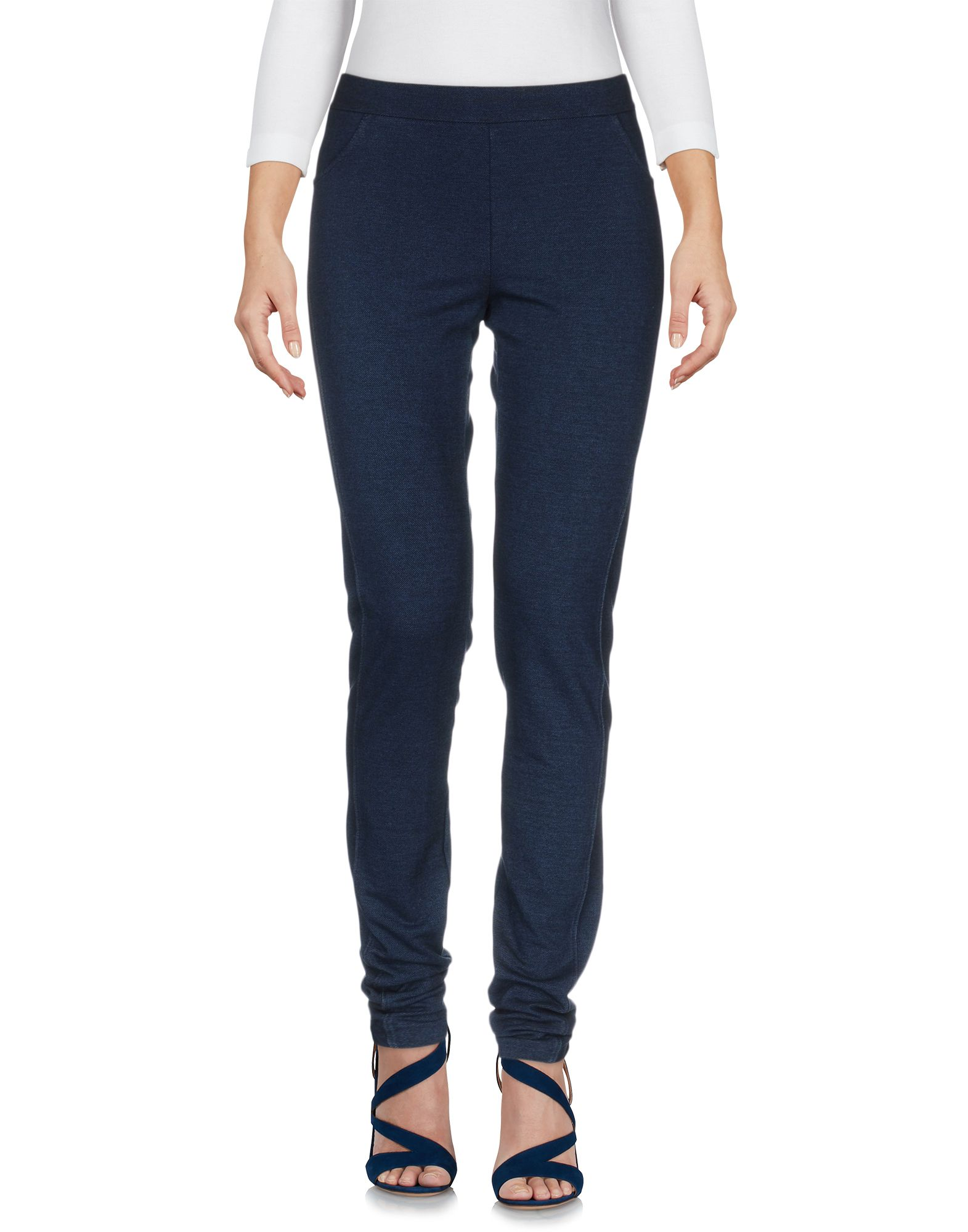 LA FABBRICA del LINO Джинсовые брюки magazzini del sale джинсовые брюки