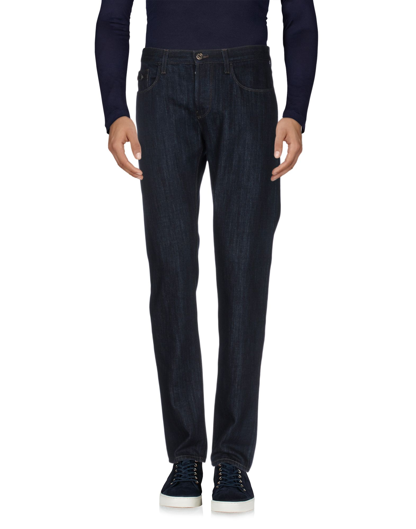 цена GUCCI Джинсовые брюки онлайн в 2017 году