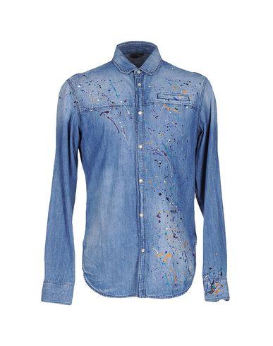 Foto JUST CAVALLI Camicia jeans uomo Camicie jeans