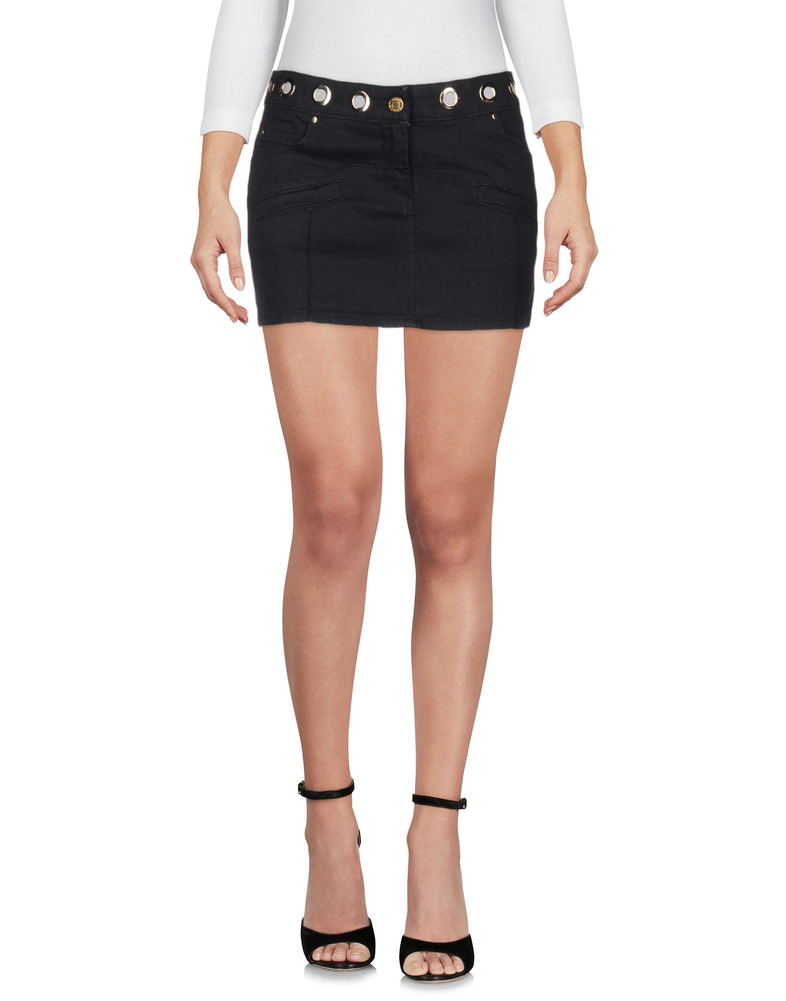 PIERRE BALMAIN Джинсовая юбка юбка pierre balmain