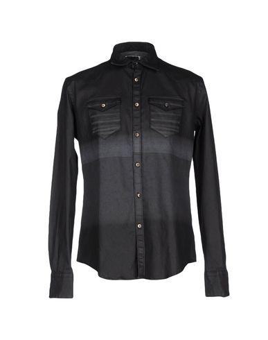 Джинсовая рубашка AGLINI 42510691JF