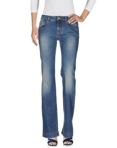 Джинсовые брюки от MAISON CLOCHARD