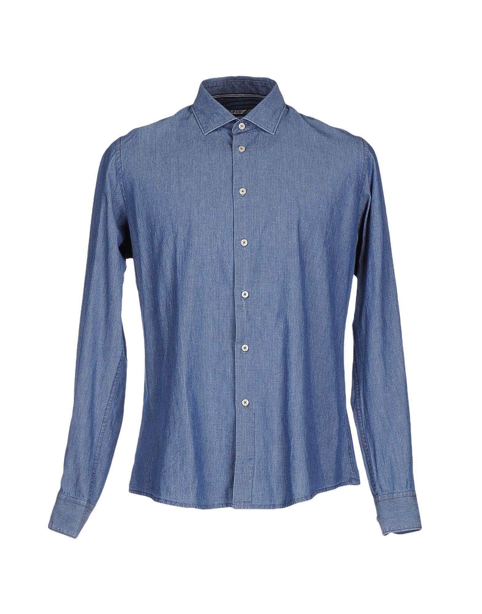 AT.P.CO Джинсовая рубашка цена 2017