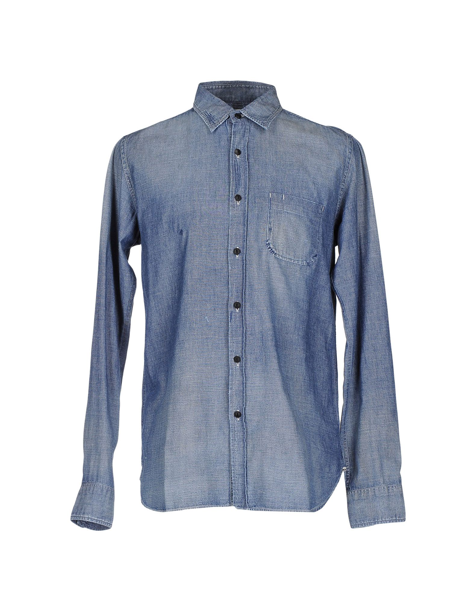 KURO Джинсовая рубашка kuro джинсовая верхняя одежда